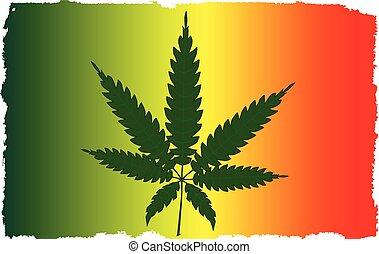 cannabis, drapeau