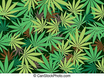 cannabis hemp radial dark