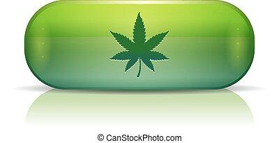 cannabis, pill