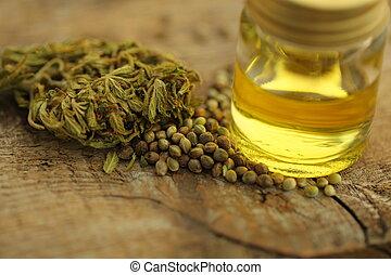 cannabis, produto, óleo, cbd