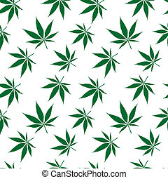 cannabis seamless pattern extended, abstract texture; vector art illustration