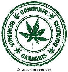 Cannabis-stamp