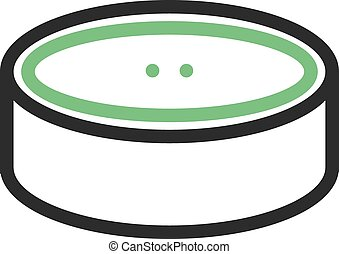 Canned Food - Can, food, canned icon vector image. Can also...