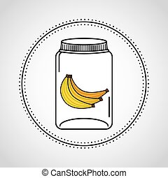 canned fruit in mason jar