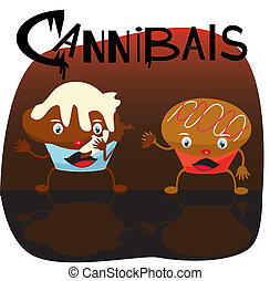cannibals.eps  - is an illustration in eps file