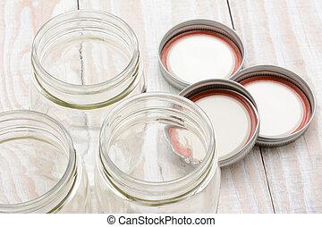 Canning Jar Closeup