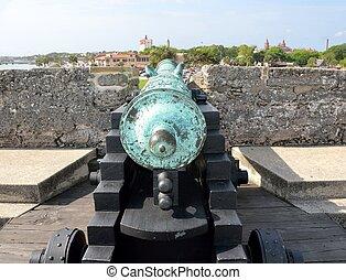 Cannon at Castle