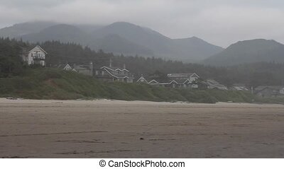 Cannon Beach OR One Foggy Morning - Beautiful Painterly...