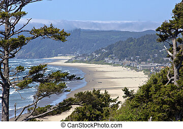 Cannon Beach Oregon coast.