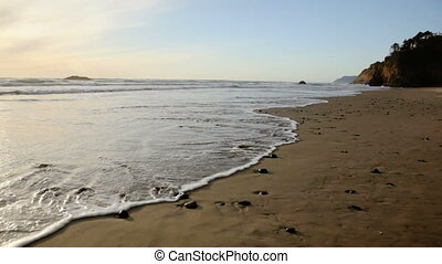 Cannon Beach, Oregon, tilt