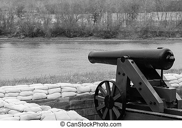 Cannon by the Lake