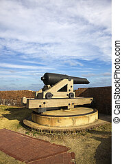 Cannon in Fort Pulaski