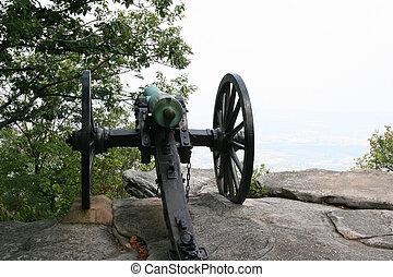 Cannon Into Haze