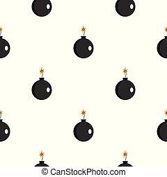 Cannonball pattern seamless
