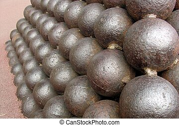 Cannonballs in the Palace of Monaco