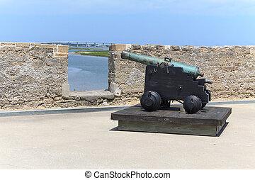 cannone, fortezza