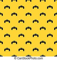 cano, padrão, industrial, válvula, vetorial