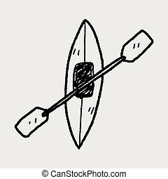 canoe doodle