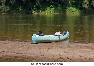 Canoe on the River