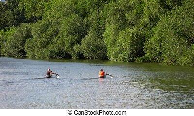 Canoe Sport in Nature