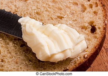 Canola oil - Butter for breakfast from canola low calorie.