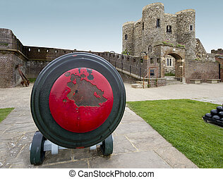 Canon and castle