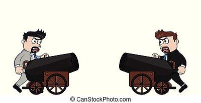canon, el suyo, dirigir, bussinessman, amigo
