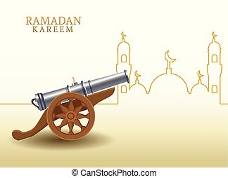canon, forma, mezquita, ramadan, kareem