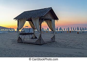 Canopy on a beach