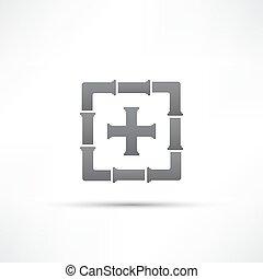 canos, ícone