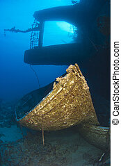 canot de sauvetage, silhouette, naufrage