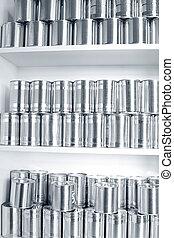 cans , κασσίτερος