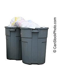 cans , σκουπίδια , γεμάτος