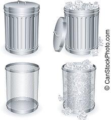 cans., déchets ménagers
