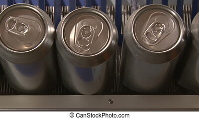 Cans Factory - Aluminum Cans, Industry, production line, ...