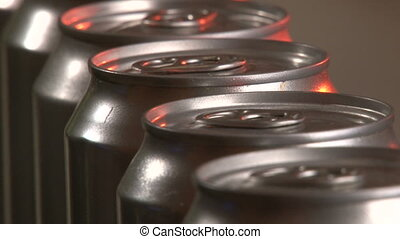 Cans Factory, closeup