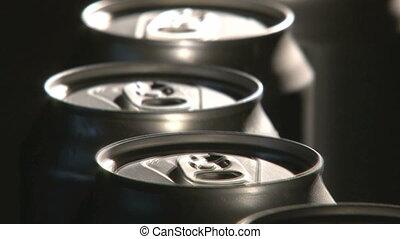 Cans Factory, closeup