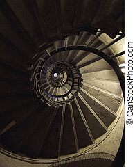 spiral - Monument in london 311 steps