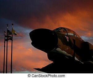 Ghost Pilot - Taken at the Leo Sydney Boston Memorial Park...