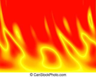 fire background - a backgorund design