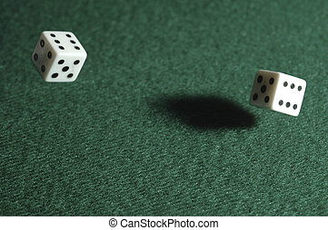 roll of the dice - dice roll captured