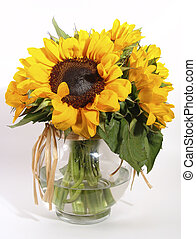 Sunflowers - Photo of Sunflowers