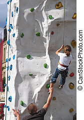climbing kid - Artificial climbing wall