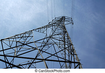 pylon - electricity pylon