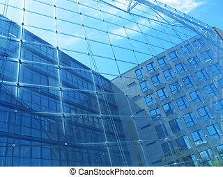 Glass Building - Glassfront of a modern building