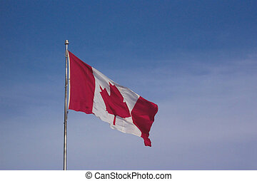 Canadian flag - Proudly Canadian!
