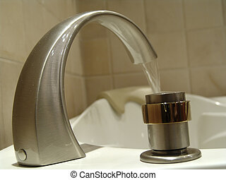 Tub Faucet - Photo of Tub Faucet