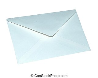 Envelope - opened envelope on white background