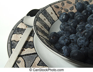 Blue Berries - Photo of Blue Berries in Bowl