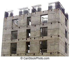 Under Construction - A building under construction in...